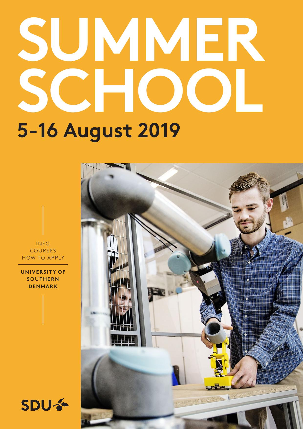 SUMMER SCHOOL AT THE UNIVERSITY OF SOUTHERN DENMARK